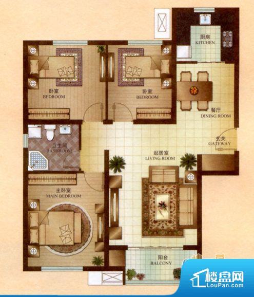 各个空间方正,后期空间利用率高。全明通透的户型,居住舒适度较高。整个空间有充足的采光,这一点对于后期居住,尤其重要。厨卫等重要的使用较为频繁的空间布局合理,方便使用,并且能够保证整个空间的空气质量。客厅、卧室、卫生间和厨房等主要功能间尺寸以及比例合适,方便采光、通风,后期居住方便。公摊高于15%且低于25%,整体得房率不算太高。
