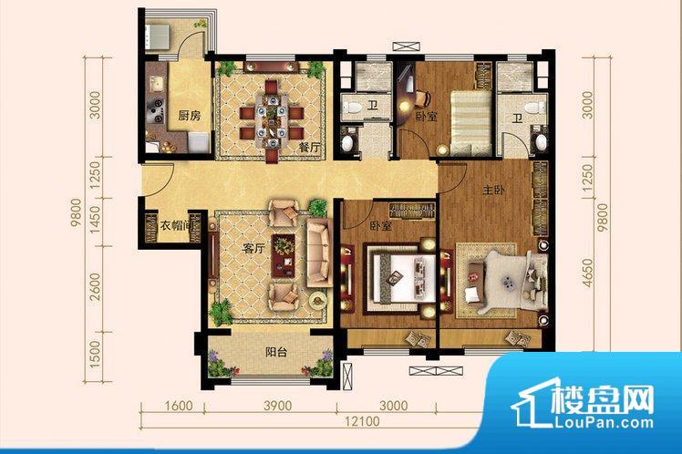 拐角较多的话,不方便家具的摆放,浪费面积。整个空间采光很好,主卧和客厅均能够保证很好的采光;并且能真正做到全明通透,整个空间空气好。卧室位置合理,能够保证足够安静,客厅的声音不会影响卧室的休息;卫生间位置合理,使用起来动线比较合理;厨房位于门口,方便使用和油烟的排出。卧室作为较为重要的休息空间,尺寸合适,有利于主人更好的休息;客厅作为重要的会客空间,尺寸合适,能够保证主人会客需求。卫生间和厨房作为