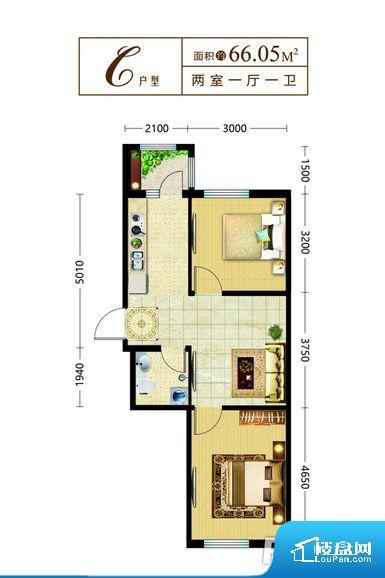 各个空间都很方正,方便后期家具的摆放。卫生间如没有窗子,可加管道通风,但是相对来说卫生间有窗户是好的情况,利于排湿,不会使湿气进到室内。整个户型空间布局合理,真正做到了干湿分离、动静分离,方便后期生活。卧室作为较为重要的休息空间,尺寸合适,有利于主人更好的休息;客厅作为重要的会客空间,尺寸合适,能够保证主人会客需求。卫生间和厨房作为重要的功能区间,尺寸合适,能够很好的满足主人生活需求。