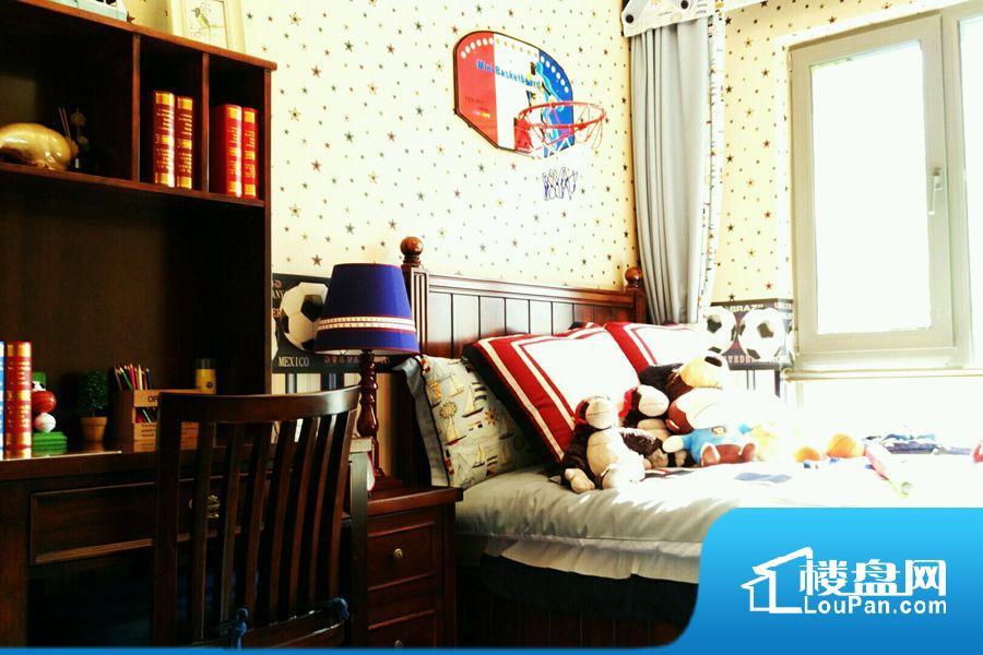 建筑面积106.70平米户型样板间儿童房