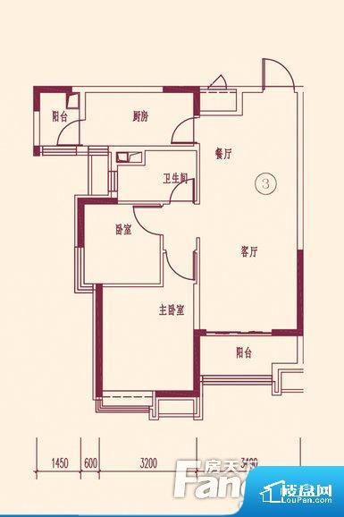 各个空间都很方正,方便后期家具的摆放。整个空间不够通透,不利于空气流通,尤其是夏天会比较热。厨卫等重要的使用较为频繁的空间布局合理,方便使用,并且能够保证整个空间的空气质量。客厅、卧室、卫生间和厨房等主要功能间尺寸以及比例合适,方便采光、通风,后期居住方便。