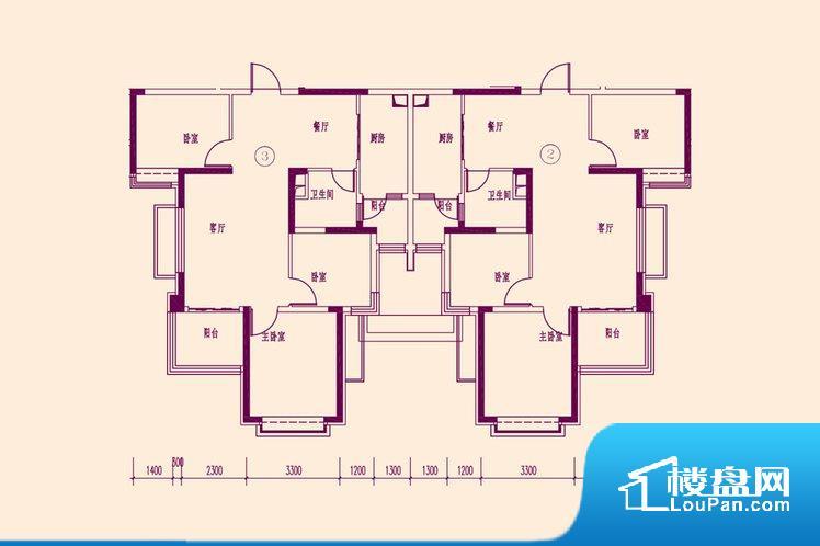 各个空间都很方正,方便后期家具的摆放。无穿堂风,室内空气无法对流,会导致过于潮湿或者干燥。卧室作为较为重要的休息空间,尺寸合适,有利于主人更好的休息;客厅作为重要的会客空间,尺寸合适,能够保证主人会客需求。卫生间和厨房作为重要的功能区间,尺寸合适,能够很好的满足主人生活需求。公摊相对合理,一般房子公摊基本都在此范畴。日常使用基本满足。