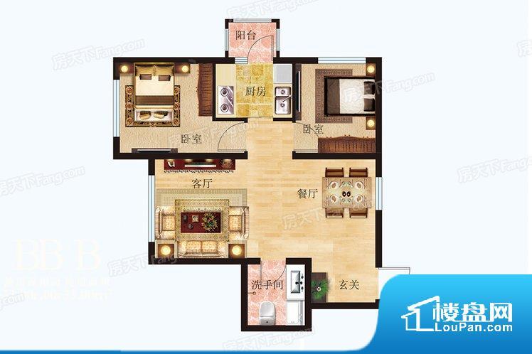 各个空间都很方正,方便后期家具的摆放。卫生间如没有窗子,可加管道通风,但是相对来说卫生间有窗户是最好的情况,利于排湿,不会使湿气进到室内。整个户型空间布局合理,真正做到了干湿分离、动静分离,方便后期生活。客厅、卧室、卫生间和厨房等主要功能间尺寸以及比例合适,方便采光、通风,后期居住方便。公摊相对合理,一般房子公摊基本都在此范畴。日常使用基本满足。