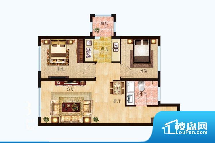 各个空间都很方正,方便后期家具的摆放。重要空间非南向或者东向,不能很好的保证采光,居住舒适度不高。卧室位置合理,能够保证足够安静,客厅的声音不会影响卧室的休息;客厅、卧室、卫生间和厨房等主要功能间尺寸以及比例合适,方便采光、通风,后期居住方便。