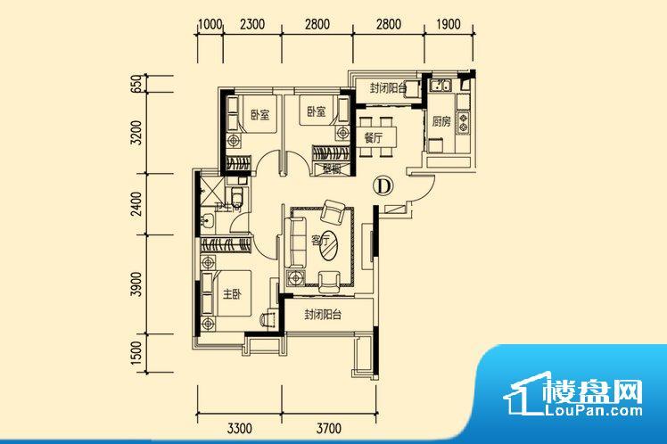 整个空间方正,拐角少,后期利用难度低,提升整个空间的利用率。整个空间采光很好,主卧和客厅均能够保证很好的采光;并且能真正做到全明通透,整个空间空气好。厨卫等重要的使用较为频繁的空间布局合理,方便使用,并且能够保证整个空间的空气质量。客厅、卧室、卫生间和厨房等主要功能间尺寸以及比例合适,方便采光、通风,后期居住方便。公摊相对合理,一般房子公摊基本都在此范畴。日常使用基本满足。