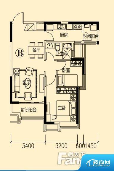 各个空间方正,后期空间利用率高。无穿堂风,室内空气无法对流,会导致过于潮湿或者干燥。卧室位置合理,能够保证足够安静,客厅的声音不会影响卧室的休息;卫生间位置合理,使用起来动线比较合理;厨房位于门口,方便使用和油烟的排出。各个功能区间面积大小都比较合理,后期使用起来比较方便,居住舒适度高。公摊相对合理,一般房子公摊基本都在此范畴。日常使用基本满足。