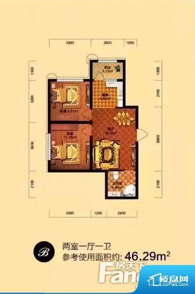 各个空间都很方正,方便后期家具的摆放。重要空间非南向或者东向,不能很好的保证采光,居住舒适度不高。卫生间如没有窗子,可加管道通风,但是相对来说卫生间有窗户是好的情况,利于排湿,不会使湿气进到室内。卧室位置合理,能够保证足够安静,客厅的声音不会影响卧室的休息;卫生间位置合理,使用起来动线比较合理;厨房位于门口,方便使用和油烟的排出。客厅、卧室、卫生间和厨房等主要功能间尺寸以及比例合适,方便采光、通风