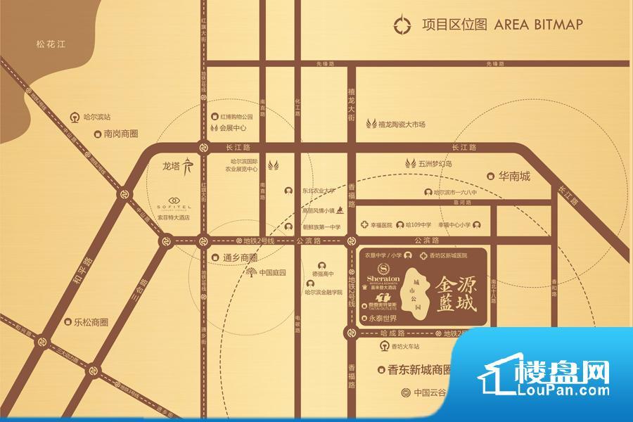 金源蓝城位置图