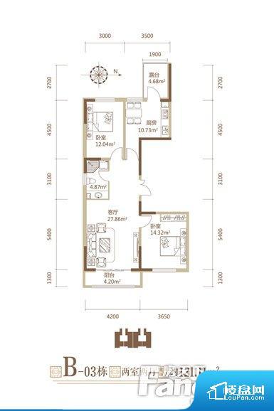 各个空间方正,后期空间利用率高。卫生间如没有窗子,可加管道通风,但是相对来说卫生间有窗户是好的情况,利于排湿,不会使湿气进到室内。厨卫等重要的使用较为频繁的空间布局合理,方便使用,并且能够保证整个空间的空气质量。各个功能区间面积大小都比较合理,后期使用起来比较方便,居住舒适度高。