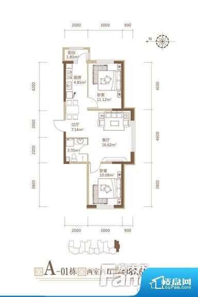 各个空间方正,后期空间利用率高。无对外窗户,通风采光较差,卫生间湿气会加重,不利于身体健康。厨卫等重要的使用较为频繁的空间布局合理,方便使用,并且能够保证整个空间的空气质量。各个功能区间面积大小都比较合理,后期使用起来比较方便,居住舒适度高。