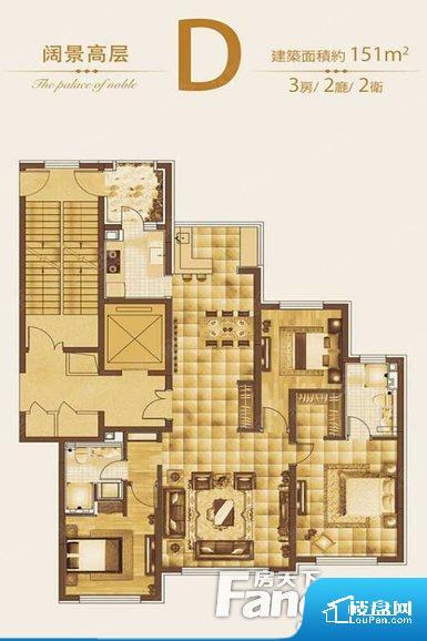 整个空间采光很好,主卧和客厅均能够保证很好的采光;并且能真正做到全明通透,整个空间空气好。整个户型空间布局合理,真正做到了干湿分离、动静分离,方便后期生活。