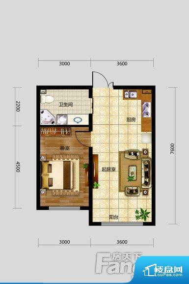 各个空间都很方正,方便后期家具的摆放。整个空间不够通透,不利于空气流通,尤其是夏天会比较热。卫生间如没有窗子,可加管道通风,但是相对来说卫生间有窗户是最好的情况,利于排湿,不会使湿气进到室内。厨卫等重要的使用较为频繁的空间布局合理,方便使用,并且能够保证整个空间的空气质量。客厅、卧室、卫生间和厨房等主要功能间尺寸以及比例合适,方便采光、通风,后期居住方便。公摊相对合理,一般房子公摊基本都在此范畴。