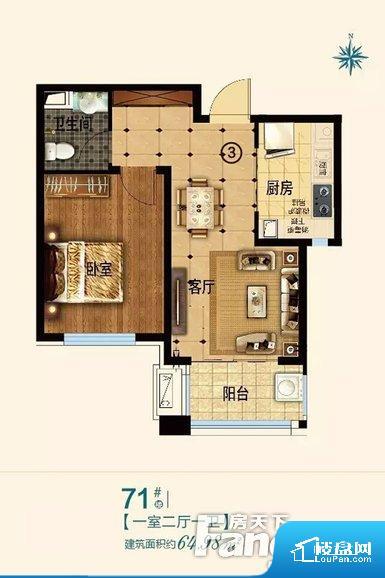 各个空间方正,后期空间利用率高。无穿堂风,室内空气无法对流,会导致过于潮湿或者干燥。无对外窗户,通风采光较差,卫生间湿气会加重,不利于身体健康。卧室位置合理,能够保证足够安静,客厅的声音不会影响卧室的休息;卫生间位置合理,使用起来动线比较合理;厨房位于门口,方便使用和油烟的排出。卧室作为较为重要的休息空间,尺寸合适,有利于主人更好的休息;客厅作为重要的会客空间,尺寸合适,能够保证主人会客需求。卫生
