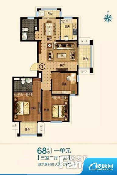 各个空间都很方正,方便后期家具的摆放。整个空间采光很好,主卧和客厅均能够保证很好的采光;并且能真正做到全明通透,整个空间空气好。厨卫等重要的使用较为频繁的空间布局合理,方便使用,并且能够保证整个空间的空气质量。客厅、卧室、卫生间和厨房等主要功能间尺寸以及比例合适,方便采光、通风,后期居住方便。