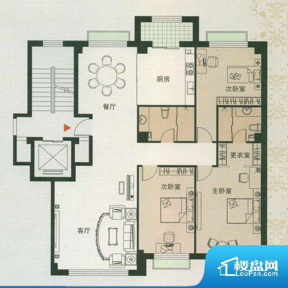 大都会·壹号公馆户型图