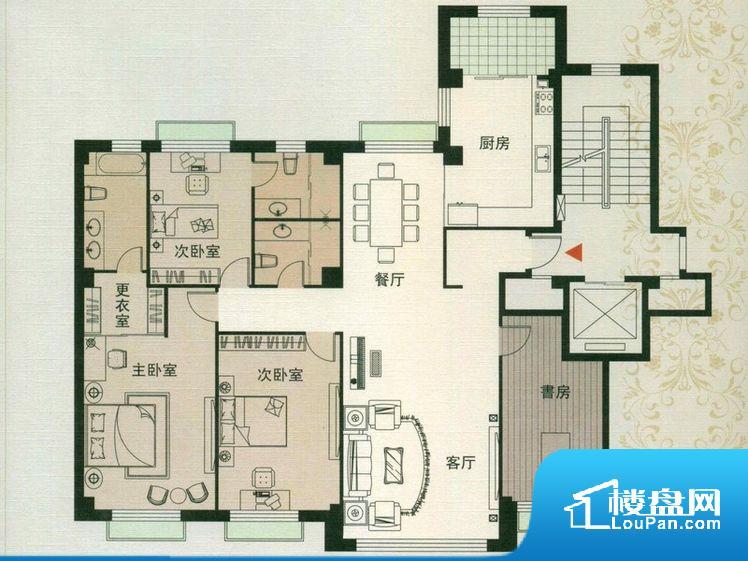 各个空间方正,后期空间利用率高。卫生间如没有窗子,可加管道通风,但是相对来说卫生间有窗户是好的情况,利于排湿,不会使湿气进到室内。