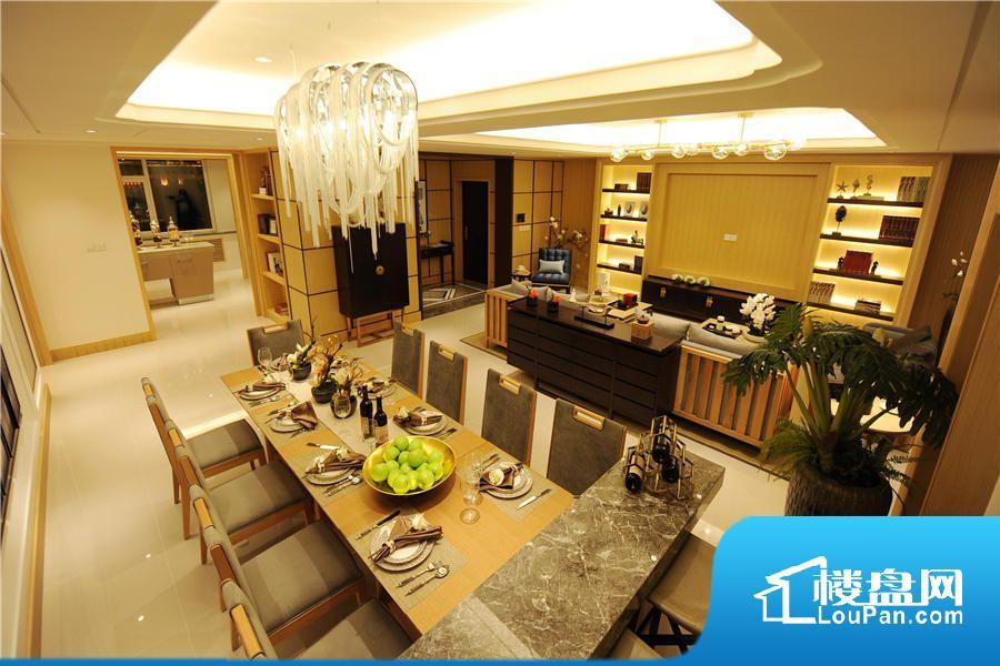 D栋236平米大平层户型客厅