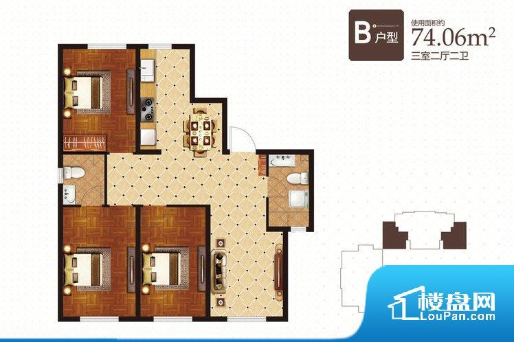各个空间都很方正,方便后期家具的摆放。全明户型,每一个空间都带有窗户,保证后期居住时能够充分采光和透气;通透户型,保证空气能够流通起来,空气质量较好;采光较好,保证居住舒适度。客厅、卧室、卫生间和厨房等主要功能间尺寸以及比例合适,方便采光、通风,后期居住方便。