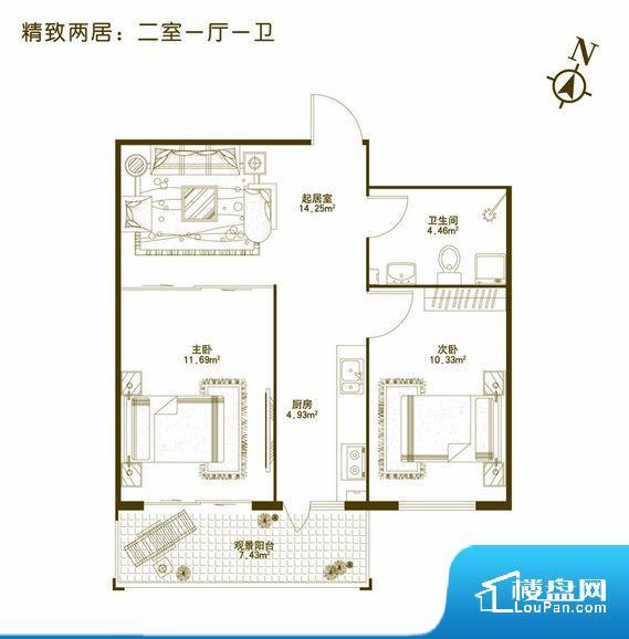 各个空间都很方正,方便后期家具的摆放。无对外窗户,通风采光较差,卫生间湿气会加重,不利于身体健康。卧室门朝向比较吵闹的区域,不利于主人休息。客厅、卧室、卫生间和厨房等主要功能间尺寸以及比例合适,方便采光、通风,后期居住方便。公摊高于15%且低于25%,整体得房率不算太高。