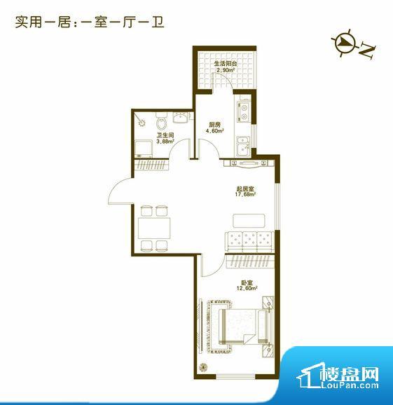 各个空间都很方正,方便后期家具的摆放。卫生间如没有窗子,可加管道通风,但是相对来说卫生间有窗户是好的情况,利于排湿,不会使湿气进到室内。厨卫等重要的使用较为频繁的空间布局合理,方便使用,并且能够保证整个空间的空气质量。各个功能区间面积大小都比较合理,后期使用起来比较方便,居住舒适度高。公摊相对合理,一般房子公摊基本都在此范畴。日常使用基本满足。
