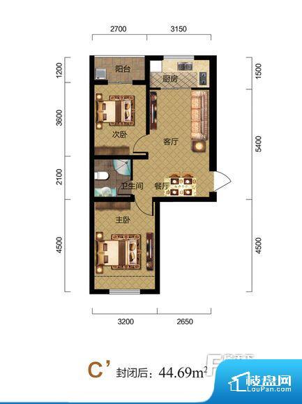 各个空间都很方正,方便后期家具的摆放。卫生间如没有窗子,可加管道通风,但是相对来说卫生间有窗户是好的情况,利于排湿,不会使湿气进到室内。厨房门朝向,做饭产生油烟和噪音对客厅有影响。客厅、卧室、卫生间和厨房等主要功能间尺寸以及比例合适,方便采光、通风,后期居住方便。公摊相对合理,一般房子公摊基本都在此范畴。日常使用基本满足。