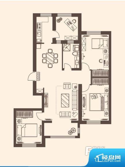 各个空间方正,后期空间利用率高。全明通透的户型,居住舒适度较高。整个空间有充足的采光,这一点对于后期居住,尤其重要。整个户型空间布局合理,真正做到了干湿分离、动静分离,方便后期生活。卧室作为较为重要的休息空间,尺寸合适,有利于主人更好的休息;客厅作为重要的会客空间,尺寸合适,能够保证主人会客需求。卫生间和厨房作为重要的功能区间,尺寸合适,能够很好的满足主人生活需求。