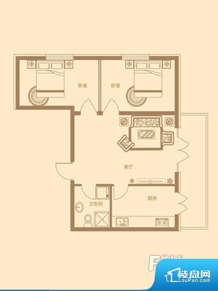 各个空间方正,后期空间利用率高。无对外窗户,通风采光较差,卫生间湿气会加重,不利于身体健康。厨房门朝向,做饭产生油烟和噪音对客厅有影响。各个功能区间面积大小都比较合理,后期使用起来比较方便,居住舒适度高。公摊高于15%且低于25%,整体得房率不算太高。