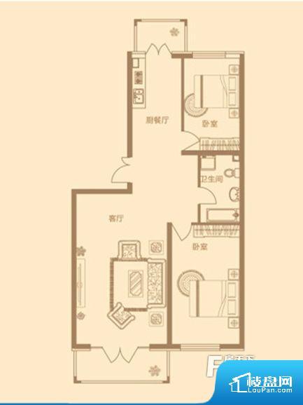 各个空间都很方正,方便后期家具的摆放。卫生间如没有窗子,可加管道通风,但是相对来说卫生间有窗户是好的情况,利于排湿,不会使湿气进到室内。厨房门朝向客厅,做饭时油烟对客厅影响较大。各个功能区间面积大小都比较合理,后期使用起来比较方便,居住舒适度高。公摊相对合理,一般房子公摊基本都在此范畴。日常使用基本满足。