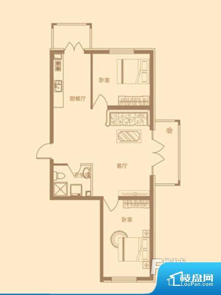 各个空间方正,后期空间利用率高。卫生间如没有窗子,可加管道通风,但是相对来说卫生间有窗户是好的情况,利于排湿,不会使湿气进到室内。卫生间朝向客厅私密性较差,卫生间朝向餐厅产生的气味及细菌对餐厅影响较大,卫生间朝向卧室,产生的气味对卧室有影响。客厅、卧室、卫生间和厨房等主要功能间尺寸以及比例合适,方便采光、通风,后期居住方便。公摊相对合理,一般房子公摊基本都在此范畴。日常使用基本满足。