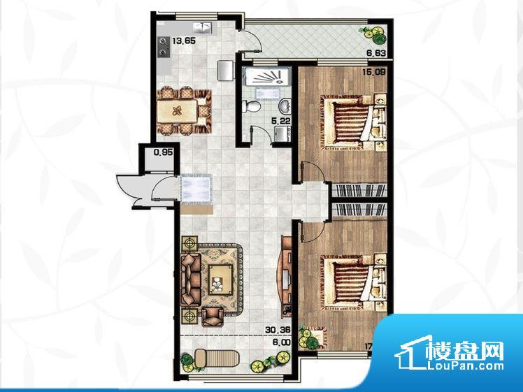 各个空间都很方正,方便后期家具的摆放。全明户型,每一个空间都带有窗户,保证后期居住时能够充分采光和透气;通透户型,保证空气能够流通起来,空气质量较好;采光较好,保证居住舒适度。卫生间门朝向人较多的区域,导致区域空气不好,舒适度差。客厅、卧室、卫生间和厨房等主要功能间尺寸以及比例合适,方便采光、通风,后期居住方便。公摊高于15%且低于25%,整体得房率不算太高。