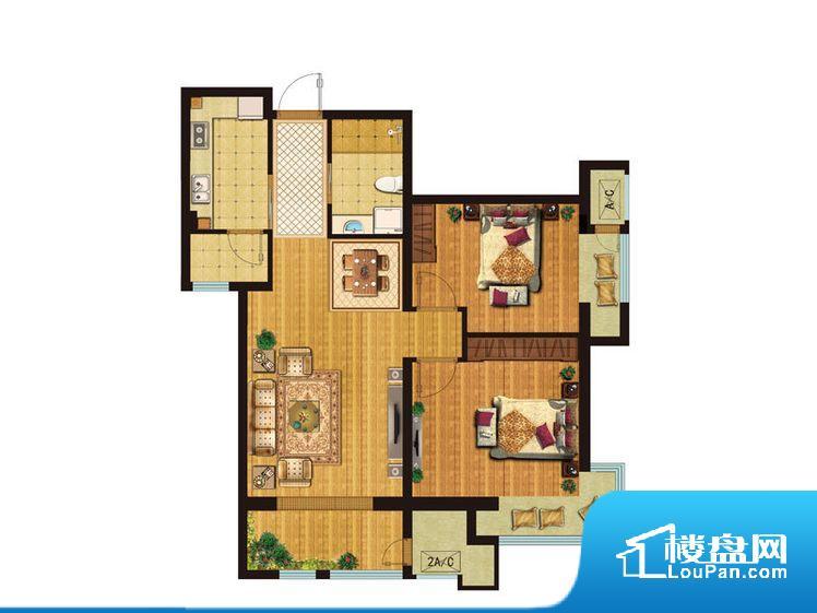 各个空间都很方正,方便后期家具的摆放。整个户型空间布局合理,真正做到了干湿分离、动静分离,方便后期生活。客厅、卧室、卫生间和厨房等主要功能间尺寸以及比例合适,方便采光、通风,后期居住方便。公摊相对合理,一般房子公摊基本都在此范畴。日常使用基本满足。