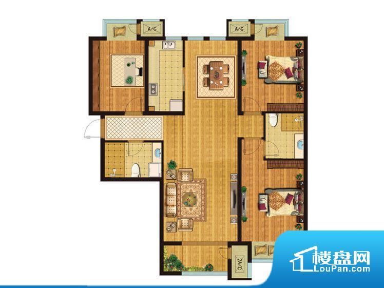 各个空间都很方正,方便后期家具的摆放。卫生间无对外窗户,采光不好,不利于后期使用过程中的排风透气。厨卫等重要的使用较为频繁的空间布局合理,方便使用,并且能够保证整个空间的空气质量。各个功能区间面积大小都比较合理,后期使用起来比较方便,居住舒适度高。公摊相对合理,一般房子公摊基本都在此范畴。日常使用基本满足。