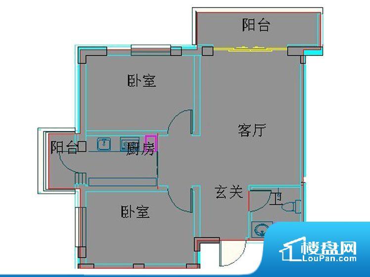 各个空间方正,后期空间利用率高。卧室位置合理,能够保证足够安静,客厅的声音不会影响卧室的休息;卫生间位置合理,使用起来动线比较合理;卧室作为较为重要的休息空间,尺寸合适,有利于主人更好的休息;客厅作为重要的会客空间,尺寸合适,能够保证主人会客需求。卫生间和厨房作为重要的功能区间,尺寸合适,能够很好的满足主人生活需求。公摊相对合理,一般房子公摊基本都在此范畴。日常使用基本满足。