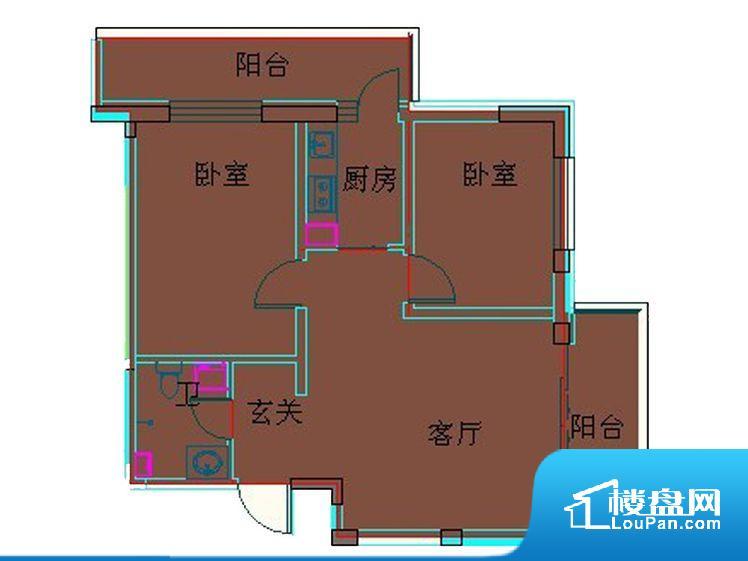 各个空间都很方正,方便后期家具的摆放。无穿堂风,室内空气无法对流,会导致过于潮湿或者干燥。无对外窗户,通风采光较差,卫生间湿气会加重,不利于身体健康。卧室作为较为重要的休息空间,尺寸合适,有利于主人更好的休息;客厅作为重要的会客空间,尺寸合适,能够保证主人会客需求。卫生间和厨房作为重要的功能区间,尺寸合适,能够很好的满足主人生活需求。公摊相对合理,一般房子公摊基本都在此范畴。日常使用基本满足。