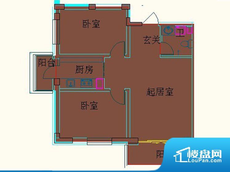 各个空间都很方正,方便后期家具的摆放。卫生间无对外窗户,采光不好,不利于后期使用过程中的排风透气。卧室位置合理,能够保证足够安静,客厅的声音不会影响卧室的休息;卫生间位置合理,使用起来动线比较合理。客厅、卧室、卫生间和厨房等主要功能间尺寸以及比例合适,方便采光、通风,后期居住方便。公摊相对合理,一般房子公摊基本都在此范畴。日常使用基本满足。