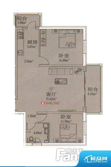 整个空间方正,拐角少,后期利用难度低,提升整个空间的利用率。整个空间采光很好,主卧和客厅均能够保证很好的采光;并且能真正做到全明通透,整个空间空气好。整个户型空间布局合理,真正做到了干湿分离、动静分离,方便后期生活。客厅、卧室、卫生间和厨房等主要功能间尺寸以及比例合适,方便采光、通风,后期居住方便。公摊高于15%且低于25%,整体得房率不算太高。