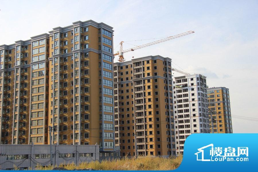 项目在建高层外景(2015-09-28)