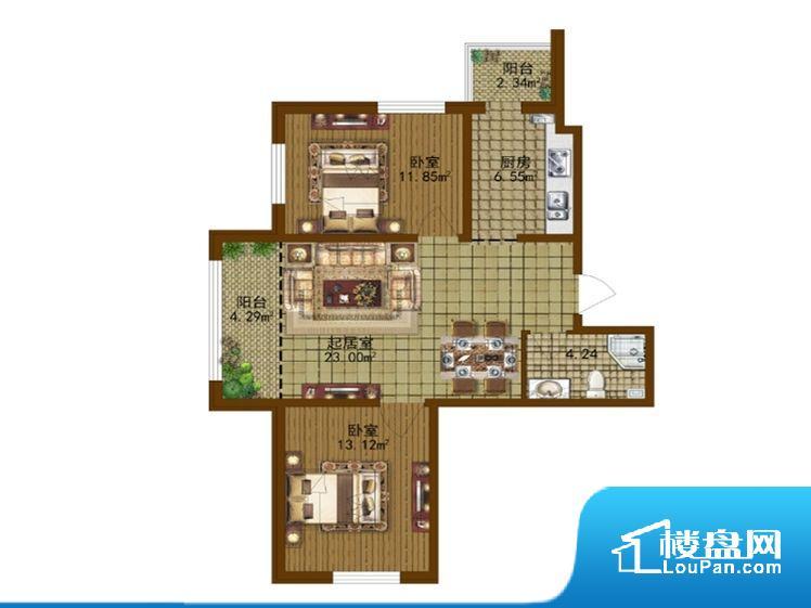 整个空间方正,拐角少,后期利用难度低,提升整个空间的利用率。无对外窗户,通风采光较差,卫生间湿气会加重,不利于身体健康。厨卫等重要的使用较为频繁的空间布局合理,方便使用,并且能够保证整个空间的空气质量。客厅、卧室、卫生间和厨房等主要功能间尺寸以及比例合适,方便采光、通风,后期居住方便。公摊相对合理,一般房子公摊基本都在此范畴。日常使用基本满足。