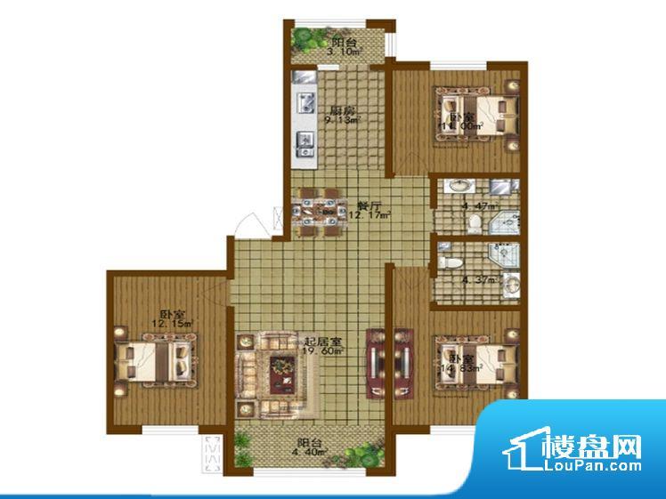 整个空间方正,拐角少,后期利用难度低,提升整个空间的利用率。无对外窗户,通风采光较差,卫生间湿气会加重,不利于身体健康。厨卫等重要的使用较为频繁的空间布局合理,方便使用,并且能够保证整个空间的空气质量。卧室作为较为重要的休息空间,尺寸合适,有利于主人更好的休息;客厅作为重要的会客空间,尺寸合适,能够保证主人会客需求。卫生间和厨房作为重要的功能区间,尺寸合适,能够很好的满足主人生活需求。公摊高于15