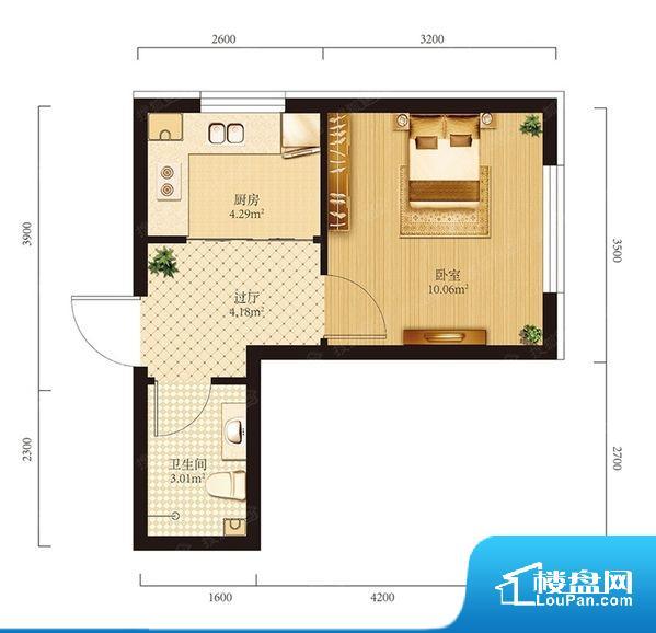 整个空间方正,拐角少,后期利用难度低,提升整个空间的利用率。无穿堂风,室内空气无法对流,会导致过于潮湿或者干燥。卫生间无对外窗户,采光不好,不利于后期使用过程中的排风透气。厨房靠里,做饭产生油烟和噪音对整间房子影响较大。卧室门朝向比较吵闹的区域,不利于主人休息。客厅面宽太窄,空间上会感觉过于压抑和局促,采光有影响。