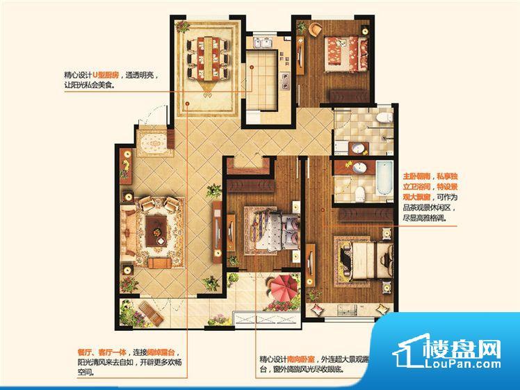 各个空间方正,后期空间利用率高。整个空间采光很好,主卧和客厅均能够保证很好的采光;并且能真正做到全明通透,整个空间空气好。厨卫等重要的使用较为频繁的空间布局合理,方便使用,并且能够保证整个空间的空气质量。卧室作为较为重要的休息空间,尺寸合适,有利于主人更好的休息;客厅作为重要的会客空间,尺寸合适,能够保证主人会客需求。卫生间和厨房作为重要的功能区间,尺寸合适,能够很好的满足主人生活需求。公摊相对合