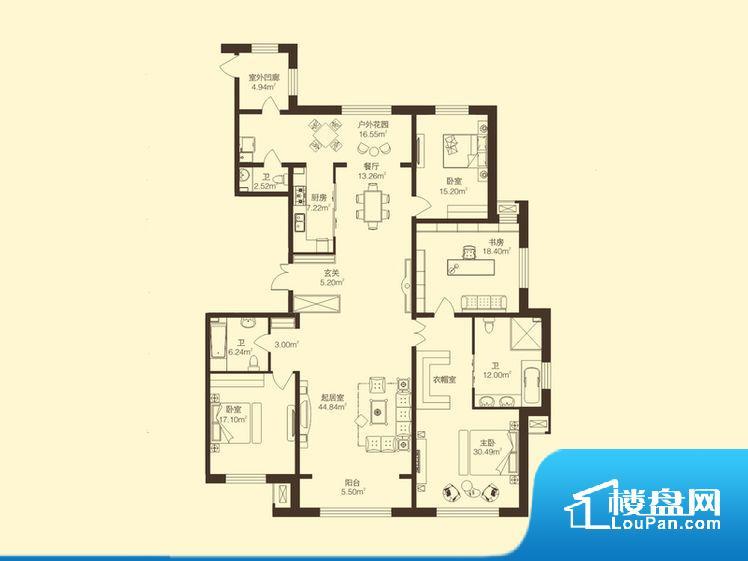 整个空间方正,拐角少,后期利用难度低,提升整个空间的利用率。整个空间采光很好,主卧和客厅均能够保证很好的采光;并且能真正做到全明通透,整个空间空气好。卧室位置合理,能够保证足够安静,客厅的声音不会影响卧室的休息;卫生间位置合理,使用起来动线比较合理;厨房位于门口,方便使用和油烟的排出。各个功能区间面积大小都比较合理,后期使用起来比较方便,居住舒适度高。公摊相对合理,一般房子公摊基本都在此范畴。日常
