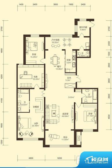 整个空间方正,拐角少,后期利用难度低,提升整个空间的利用率。卫生间无对外窗户,采光不好,不利于后期使用过程中的排风透气。卧室位置合理,能够保证足够安静,客厅的声音不会影响卧室的休息;卫生间位置合理,使用起来动线比较合理;厨房位于门口,方便使用和油烟的排出。客厅、卧室、卫生间和厨房等主要功能间尺寸以及比例合适,方便采光、通风,后期居住方便。公摊相对合理,一般房子公摊基本都在此范畴。日常使用基本满足。