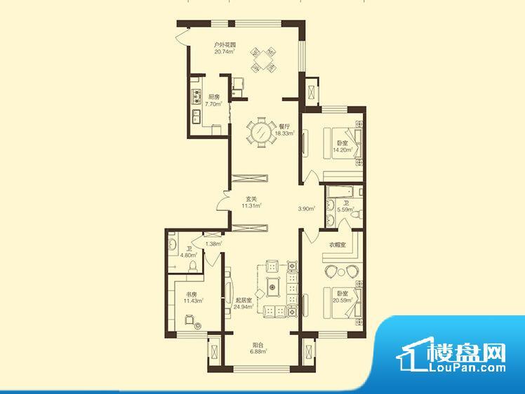 各个空间方正,后期空间利用率高。卫生间无对外窗户,采光不好,不利于后期使用过程中的排风透气。卧室位置合理,能够保证足够安静,客厅的声音不会影响卧室的休息;卫生间位置合理,使用起来动线比较合理;厨房位于门口,方便使用和油烟的排出。客厅、卧室、卫生间和厨房等主要功能间尺寸以及比例合适,方便采光、通风,后期居住方便。公摊相对合理,一般房子公摊基本都在此范畴。日常使用基本满足。
