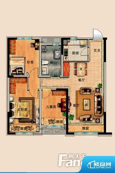 各个空间都很方正,方便后期家具的摆放。全明通透的户型,居住舒适度较高。整个空间有充足的采光,这一点对于后期居住,尤其重要。整个户型空间布局合理,真正做到了干湿分离、动静分离,方便后期生活。客厅、卧室、卫生间和厨房等主要功能间尺寸以及比例合适,方便采光、通风,后期居住方便。公摊相对合理,一般房子公摊基本都在此范畴。日常使用基本满足。