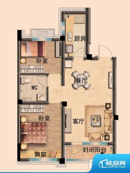 各个空间都很方正,方便后期家具的摆放。各个功能区间面积大小都比较合理,后期使用起来比较方便,居住舒适度高。
