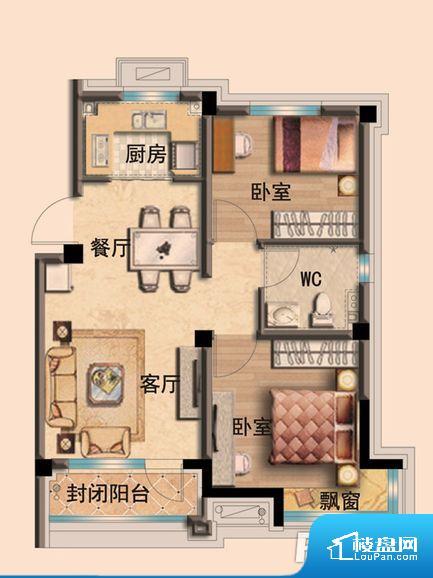 各个空间方正,后期空间利用率高。全明户型,每一个空间都带有窗户,保证后期居住时能够充分采光和透气;通透户型,保证空气能够流通起来,空气质量较好;采光较好,保证居住舒适度。各个功能区间面积大小都比较合理,后期使用起来比较方便,居住舒适度高。