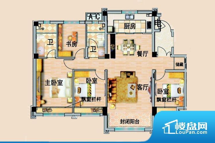 各个空间方正,后期空间利用率高。整个空间采光很好,主卧和客厅均能够保证很好的采光;并且能真正做到全明通透,整个空间空气好。厨房门朝向,做饭产生油烟和噪音对客厅有影响。客厅、卧室、卫生间和厨房等主要功能间尺寸以及比例合适,方便采光、通风,后期居住方便。公摊高于15%且低于25%,整体得房率不算太高。