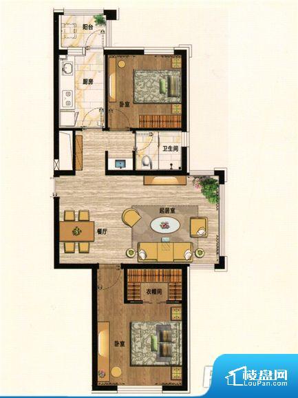 各个空间都很方正,方便后期家具的摆放。全明户型,每一个空间都带有窗户,保证后期居住时能够充分采光和透气;通透户型,保证空气能够流通起来,空气质量较好;采光较好,保证居住舒适度。厨卫等重要的使用较为频繁的空间布局合理,方便使用,并且能够保证整个空间的空气质量。各个功能区间面积大小都比较合理,后期使用起来比较方便,居住舒适度高。公摊高于15%且低于25%,整体得房率不算太高。