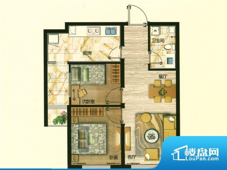 整个空间方正,拐角少,后期利用难度低,提升整个空间的利用率。卧室作为较为重要的休息空间,尺寸合适,有利于主人更好的休息;客厅作为重要的会客空间,尺寸合适,能够保证主人会客需求。卫生间和厨房作为重要的功能区间,尺寸合适,能够很好的满足主人生活需求。公摊高于15%且低于25%,整体得房率不算太高。